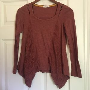 Taylor & Sage Long Sleeve Blouse